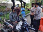 Pembagian Masker Polres Serang Kota