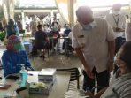 Vaksinasi Pedagang Tangsel