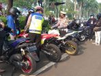 Polres Tangsel Razia Knalpot Racing