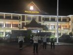 Polda Banten PPKM Darurat Razia
