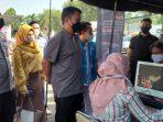Vaksinasi Polda Banten Buruh