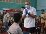 Bupati Tangerang Vaksin