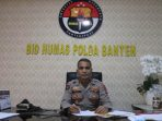 Kabid Humas Polda Banten Shinto